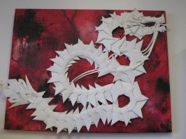 Paper Dragon by Artifex13Temporis