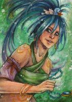 ACEO: Heiress of seas by Psychocereals