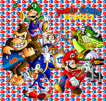 The NEW Mario and Sonic Band by JamesmanTheRegenold