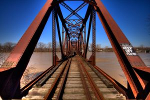 Bridge Over Muddy Waters by mr-lacombe