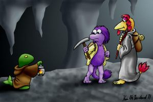 Final Fraggle Rock Fantasy by Negaduck9