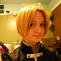 Edward elric wig test by foxyjoy