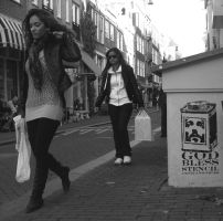 amsterdam streets by orticanoodles
