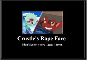 Crustle Rape Face Meme
