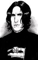 Rickman!Snape and the Golden Snitch by Atanapotnia