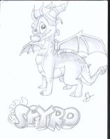 spyro by sophie-loup