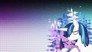 Twilight and Shining Armor Wallpaper by thaBIGDADDY5