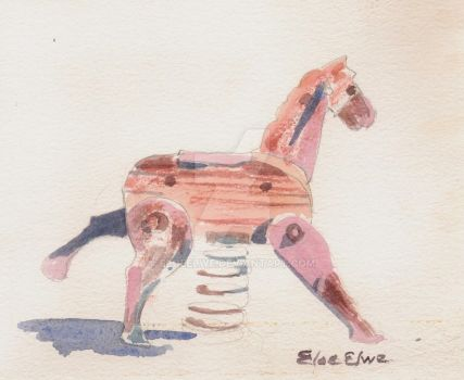 Antique Playground Pony by EloeElwe