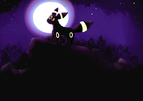 Umbreon by Daft-punk-girl2