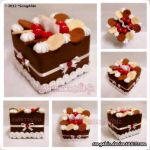 BisChoc Berry Tissue Cake Box.. by SongAhIn