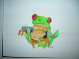 Watecolor Frog 1 by DarthJader11