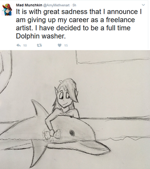 Dolphin Washer by CaptainEdwardTeague