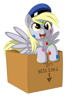 Derpy Boxed - by Kloudmutt by wasd999
