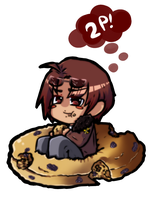 2P! America and a Raisin Bagel by GeekyKitten64