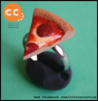 Pizza ring by citruscouture