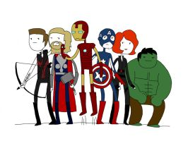 avenger time by EGLemming