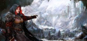 Winter Warrior by Allnamesinuse