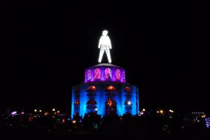 Burning Man 2012 - The Man by Starjuice