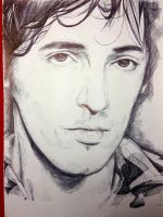 Bruce Springsteen by claremcgeever