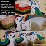 Sick Pony Cake by bfrena