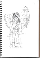 RotG OC-  Adam Cupid Eros Amor- Redesigned by Penguinanthrogirl99