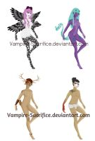 Adoptable Batch 2 *CLOSED* by Vampire-Sacrifice