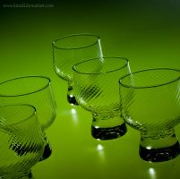Green Glass March by Kintall