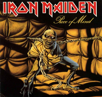 Iron Maiden - Piece of Mind by CUBASMETAL