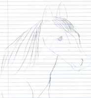 Horse Lineart by StyxxsOmega