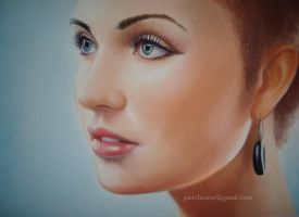 Pastel Beauty Face Woman by PASTELIZATOR