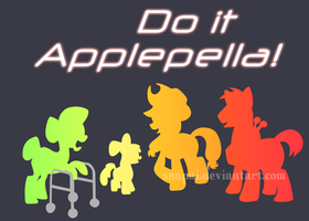 Do It Applepella! by Snapai