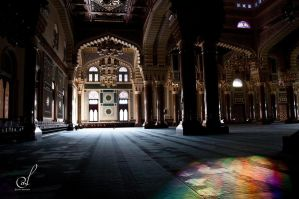 Inside the Huge Masjid by LenaDavid
