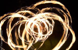 Rings o' flame by Vcent