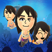 The Pocket Triplets in their Mermaid forms~! by Pixelboid
