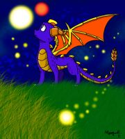 Spyro Night by Insaneus