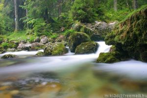 Golling Wasserfall In Austria by miki3d