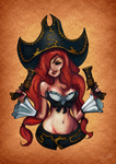 Make it Rain - Miss Fortune by dehblee
