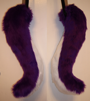 Custom canine tail by AcrotomicStudios