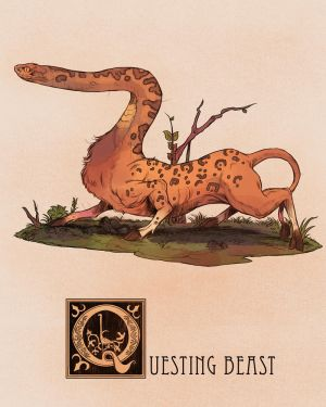 Q is for Questing Beast