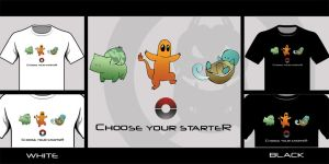 Choose Your Starter by Py3rr