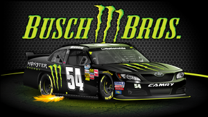 Busch Brothers 2012 Monster Wallpaper by Veeyo