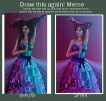Meme  Before And After 2015 by limonkaie