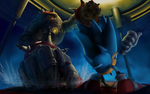 Sonic vs BigArm by SNGPSo