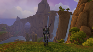 Throne of Elements, Nagrand (Draenor) by SwiftNinja91