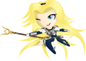 Chibi Lux by RatchetHuN