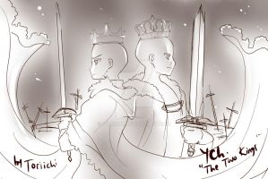 [CLOSED] YCH-The Two Kings by Toriichi