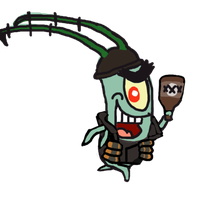 Plankton Demo Spray by Luigimariogmod
