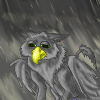 grey griffin by Kayleigh-Kaz