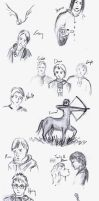 HP Sketch dump by Catherine-PL