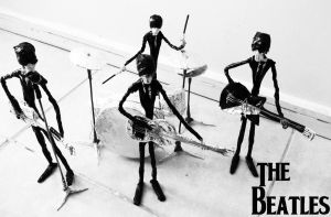 The Beatles in wire by TheWallProducciones